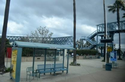 Irvine train depot.