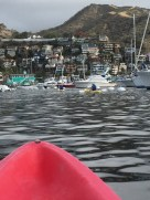 Heading back through the harbor