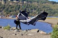 Parasailing Oregon's Columbia River Gorge (8)
