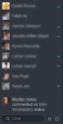 Facebook New Look Chat