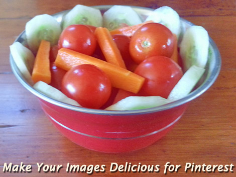 Colorful Salad in bowl