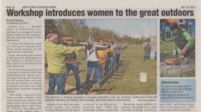 Women in Outdoors Onondaga County