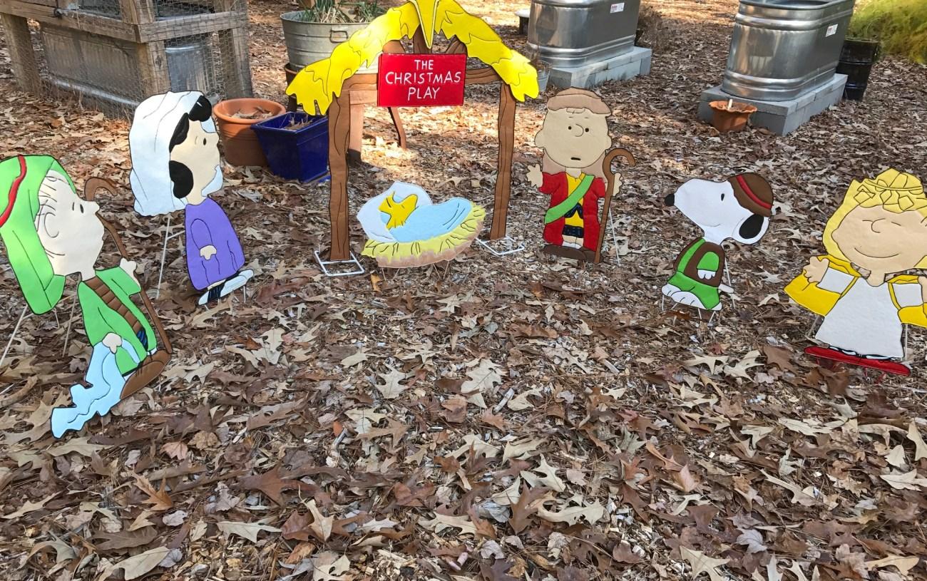 Christmas in a Southern Garden