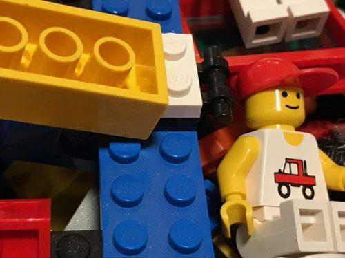 Waking up in Lego Land!