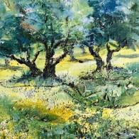 Spring in the Olive Grove SOLD