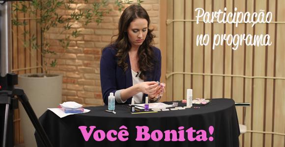 Participação no Programa Você Bonita – TV Gazeta