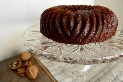 Irish Date Cake Close UP