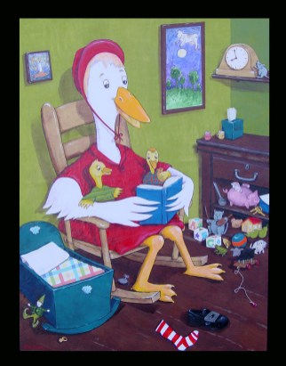 Mother Goose Rhymes (at the Infant and Children's Crisis Services, Oklahoma City OK)
