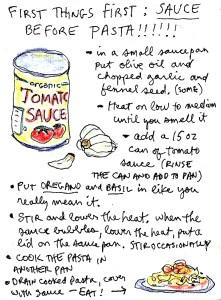 quick easy tomato pasta sauce