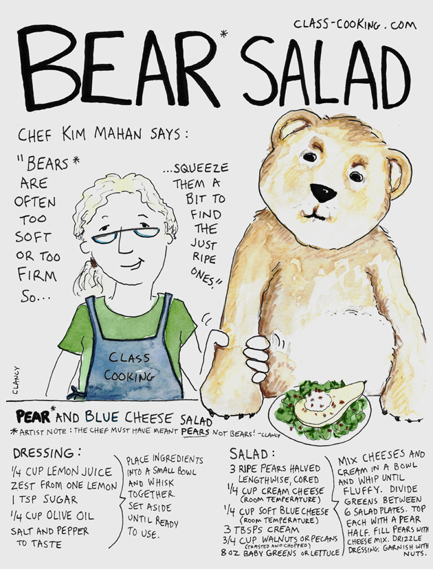 Bear Salad