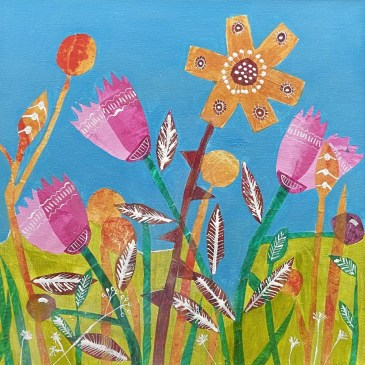 A Sunny Day - Sue Collins Mixed Media
