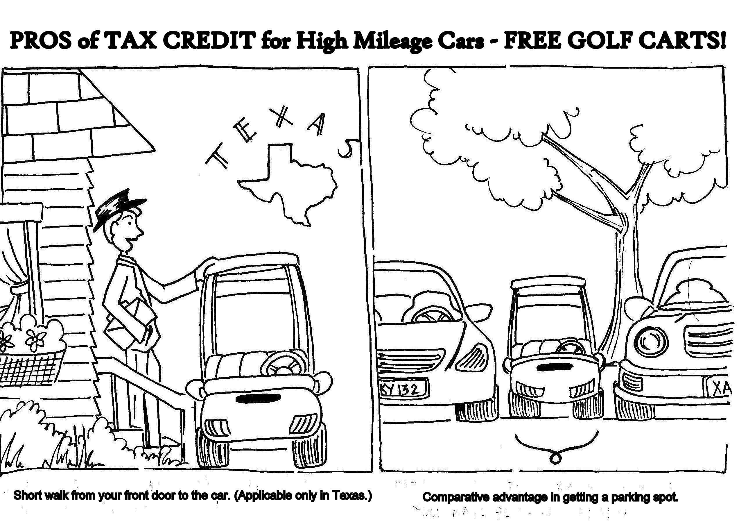 Golf cart purchases fall under new federal tax credit