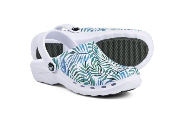 TROPICAL KLOMPE papuče Suecos za zdravstvo lake mekane medicinske (3)