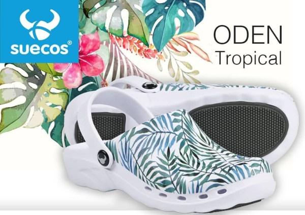 TROPICAL KLOMPE papuče Suecos za zdravstvo lake mekane medicinske