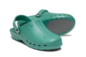 Oden Klompe zelene papuce zelene Suecos klompe