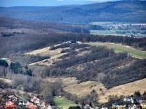 Der Segelflugplatz am Steinberg bei Wesseln