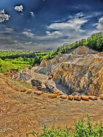Der Steinbruch von Wesseln