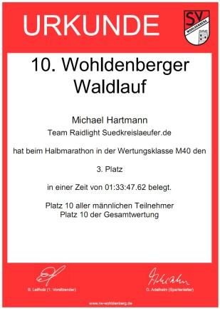 10. Wohldenberger Waldlauf