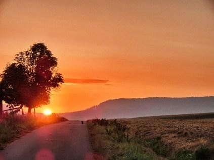Sonnenaufgang halb 7