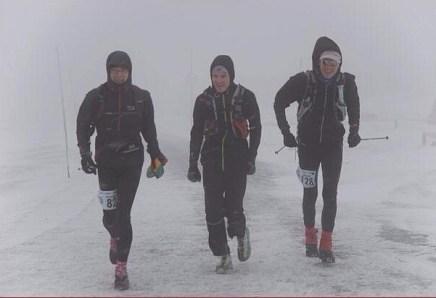 Zieleinlauf mit Christoph und Lars (Foto von Jörg Jablonski)