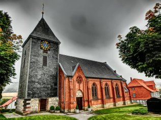 Die Kirche zu Nienstedt