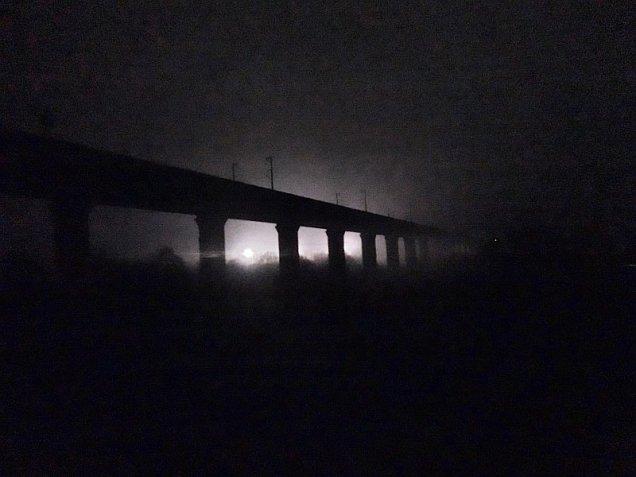 ICE Brücke bei Harbarnsen