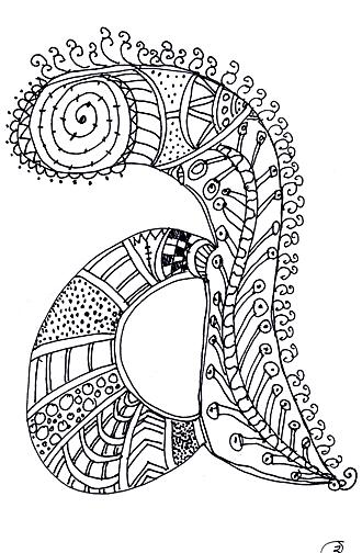 Alphabet Sue Doodles