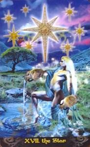 The Star from Erik C Dunne's Tarot Illuminati deck
