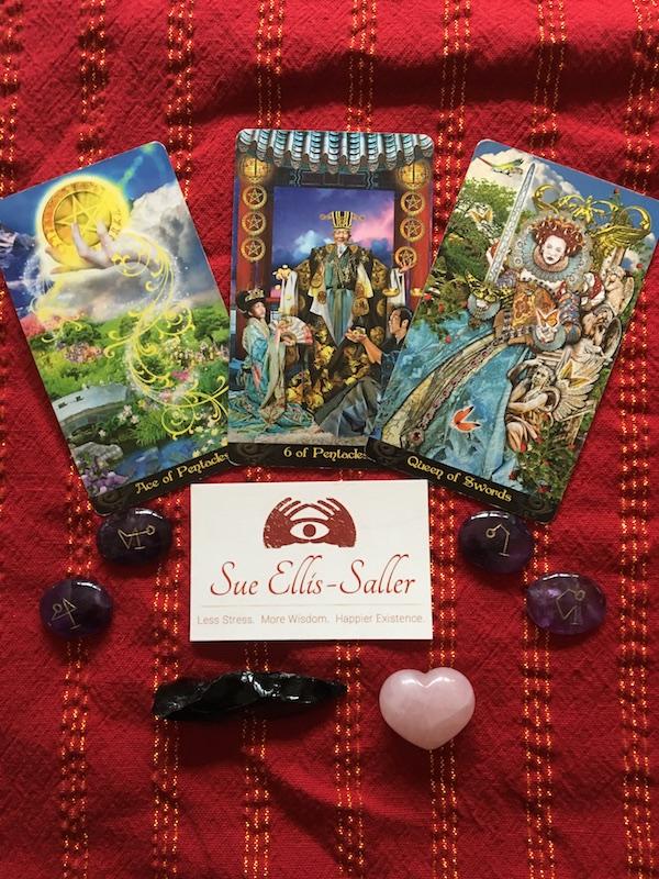 Cards from Erik C. Dunne's Tarot Illuminati