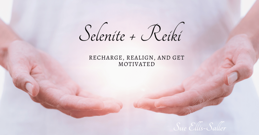 Selenite and Reiki is a good combination for shifting blocks. Read more about it here!
