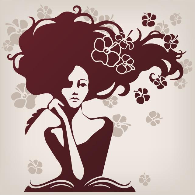 Woman thinking of writing