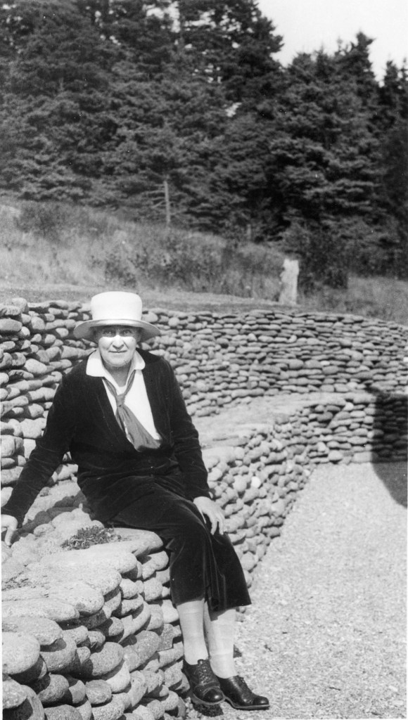 Willa Cather on Grand Manan 1932