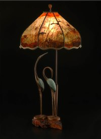 Bird lamps & Bird lamp shades Archives - Sue Johnson