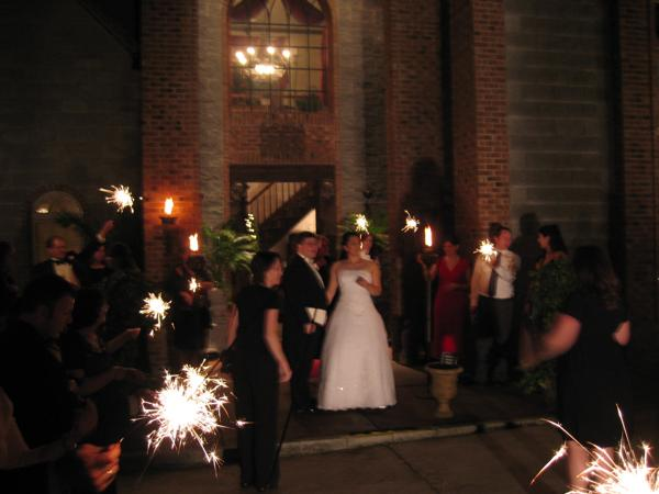 Sparklers at the End of the Evening