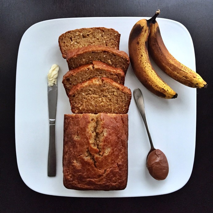 Sea Salt Caramel Banana Bread