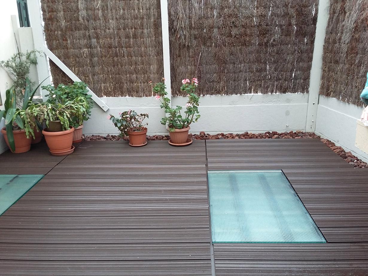 Suelos de composite para exterior cool suelo de composite for Suelos terrazas exteriores baratos