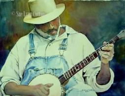 Banjo Man $120