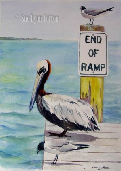 Boat Ramp Birds $99