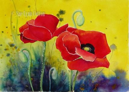 Bright Poppy $99