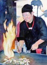 Hibachi Chef $99