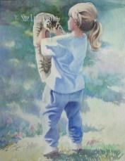 Holding Kitty $99