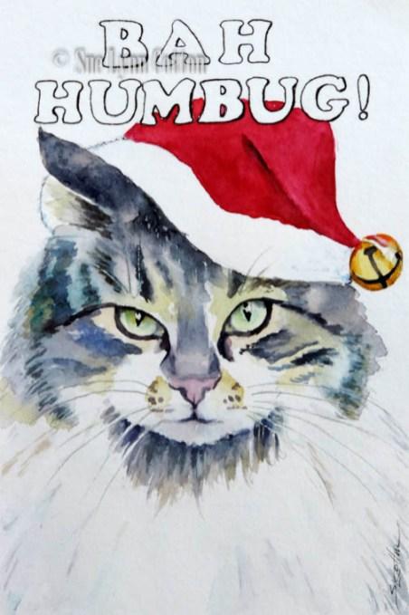 Bah Humbug Cat