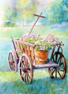 Petunia Wagon $99