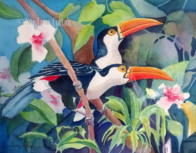 Tropical Toucans $199