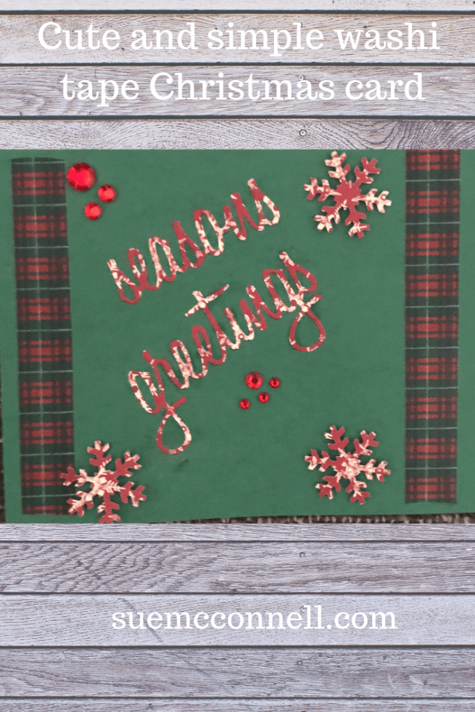 Unique, handmade Christmas card making ideas.