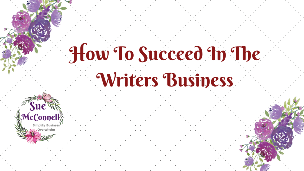Tips and tricks on how to succeed in the writer's business.
