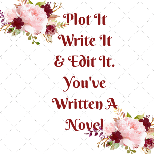 There are three stages to writing a novel. Plotting, writing, and editing. None of it's easy but it's all doable.