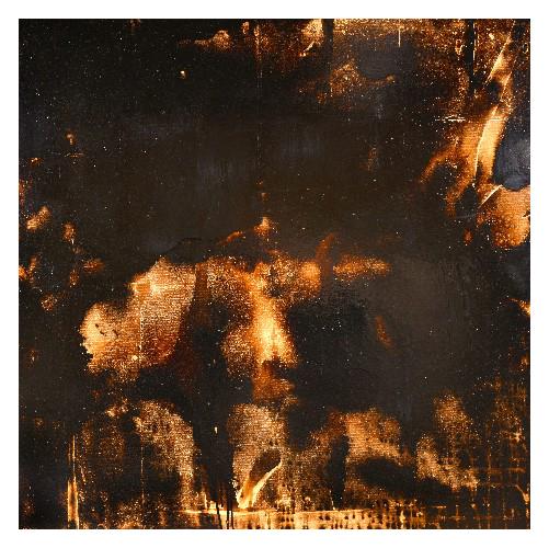 'Firework' (130 x 130cm, oil & mixed media on canvas, 2007) £850