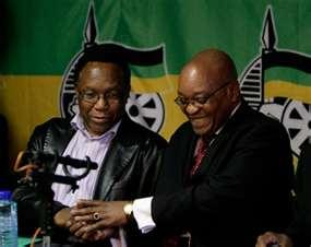 Kgalema Motlanthe & Jacob Zuma