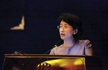 Women's Affairs Minister Ing Kantha Phavi